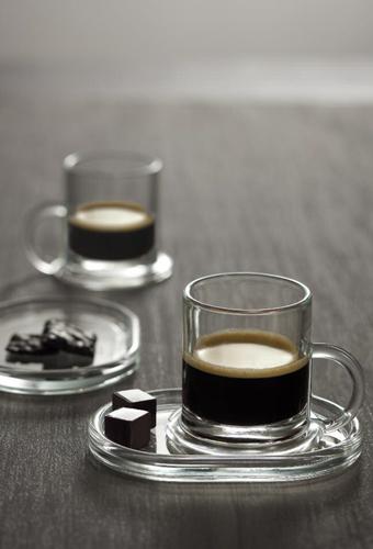 Cristaleria LaRochere Bistrot Juego de cafe deCristal
